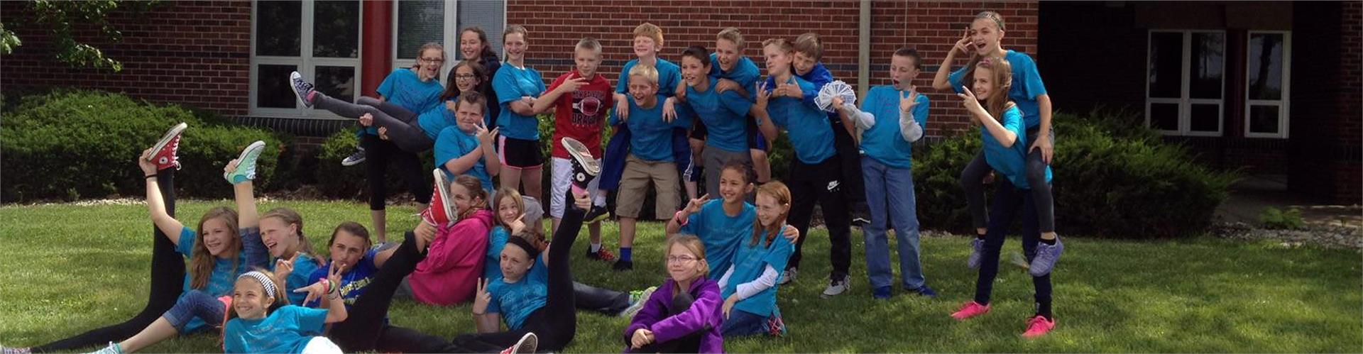 New Palestine Elementary extra-curricular group